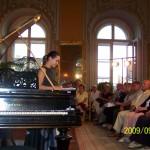 Júlia Heéger soprano, Éva Polgár piano